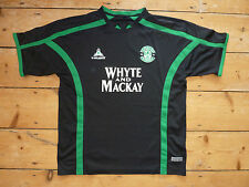 size:L HIBERNIAN FOOTBALL SHIRT 2005 HIBS home top SOCCER JERSEY  Scottish