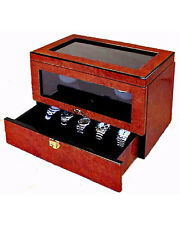 Orbita Monaco 2 Burlwood Automatic Watch Winder - W16221