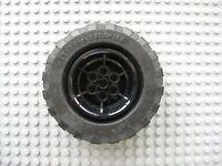 1 x Lego Technic Wheel Holder Dark Grey 7x3 Wheel Holder 7 x 3 32306