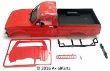 RC4WD Mojave II Yota Hard Shell Red Truck Body Drop Bed Bumpers Scale Details