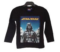 STAR WARS OFICIAL Camiseta De Manga Larga Para Niño / 4 5 6 7 8 9 10 11 12 Años