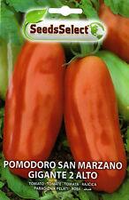 100 Semi/Seeds POMODORO San Marzano Gigante 2 Alto