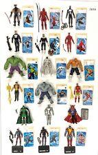 Marvel Universe Hasbro Nice Lot of Figures Spider-Man Hulk Wolverine Daredevil