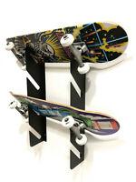 4 x Skateboard Wall Mounting Storage & Display Brackets Longboard Mini Board