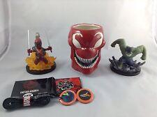 Marvel Dead pool, Hulk, Carnage Mug Loot Crate Lot Collectibles Sale