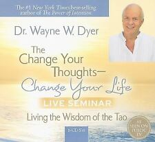 Dr. Wayne Dyer Change Your Thoughts Change Your Life Live Seminar 6 CDs NEW 241