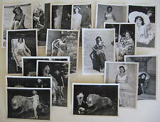 18 PHOTOS 1950s MODELS Photo Fiesta Photofest - Fontana Perris Hill Redlands CA