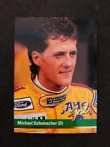 1992 grid Michael Schumacher #51 *ROOKIE*