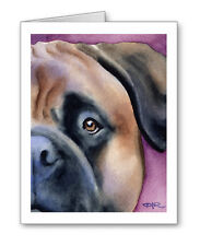 Bullmastiff Set of 10 Note Cards With Envelopes