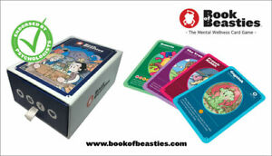 Book of Beasties - The Mental Wellbeing Card Game - Age 6+ Educational Game