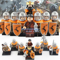 Game of Thrones Minifig Baratheon Army Military Figure for Lego Minifigure