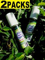 2 MEXICAN ORGANIC Aceite BERGAMOTA 100% Natural Bergamot Oil HAIR BEARD MUSTACHE