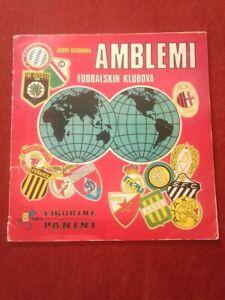 Panini  Football Clubs Badges AMBLEMI FUDBALSKIH KLUBOVA Complete album