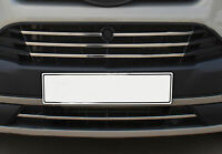 FORD TRANSIT TOURNEO CUSTOM CHROME FRONT GRILL FRAME TRIMS 2012 ONWARDS S.STEEL