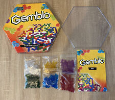 GEMBLO BOARD GAME -  TILE STRATEGY GAME - THE GREEN BOARD GAME CO - COMPLETE