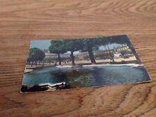carte postale de 1959 Lyon Bellecour les bassins