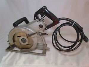 RARE Listing All Metal Body 7 1/4 Craftsman Industrial Worm Drive Saw 900.27601
