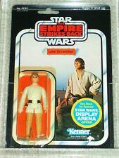 Vintage Star Wars 1981 Kenner CAS 80 LUKE SKYWALKER FARMBOY ESB back MOC NOT AFA