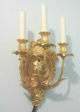 WALL SCONCE Dore' Bronze Classic Antique Style Reproduction