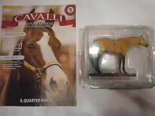 CAVALLI n 5 - QUARTER HORSE - MINIATURE ARTISTICHE DA COLLEZIONE - HOBBY & WORK