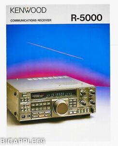 Brochure For Kenwood R-5000 Shortwave Radio Receiver