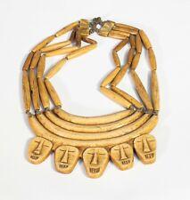 Tribal bone Naga Necklace.  Nagaland, India.