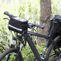 1Pcs Bike Handlebar Bag Bicycle Front Basket Outdoor Cycle Equipment Waterproofs