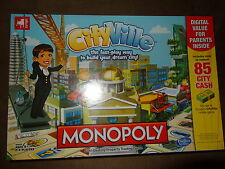 Monopoly CityVille-Build Four Skyscrapers To Win!-Hasbro-New