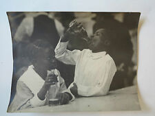 Antique original c.1920 African-American Black children photograph photo