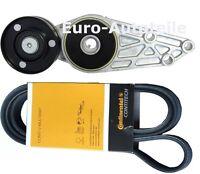Keilrippenriemen+Riemenspanner Spannrolle Spannelement AUDI A4 A6 1.6,1.8,2.0 t