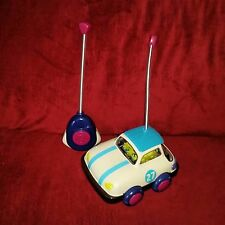 Battat B. Parents RALLY RIPSTER My First Remote Control Car Blue Cream #BX1235
