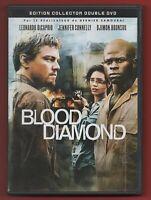 DVD - BLOOD DIAMOND con Leonardo DiCAPRIO, Jennifer CONNELLY y Djimon HOUNSOU