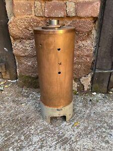 Large Part-Built Live Steam Copper Boiler - Vertical Steam Engine Scaled Model