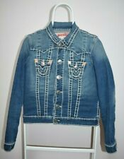 Jacket True Religion Jimmy Super T Denim Jean Women's Sz S