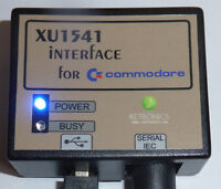 xu1541 für Commodore mit Kabel und Software.