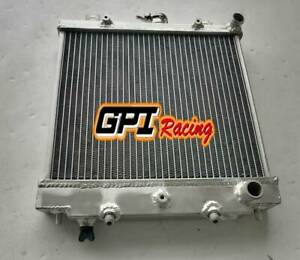 Aluminum Radiator FOR Nissan Pao 1989 1990 1991 AT 40MM CORE