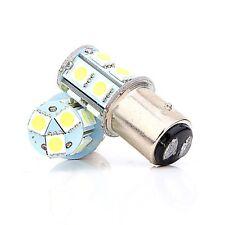 100X 1157 1142 13SMD Cold White BAY15D 5050 LED Turn Signal/Tail Light Bulbs 12V