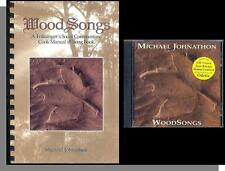 Michael Johnathon - Wood Songs: A Folk Singer's Social Commentary CD & Song Book