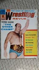 Vintage Wrestling Revue Magazine August 1970 Gagne Crusher Armstrong Wayne Girls