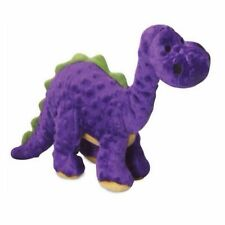 Quaker Pet GoDog Dinos Purple Bruto Chew Guard Technology Tough Dog Toy Large