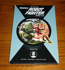 Magnus Robot Fighter Archives Volume 2 NEW Gold Key Comics Dark Horse hardcover