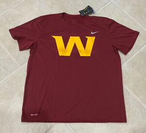 Washington Football Team Nike Dri Fit Mens XL Tshirt One Of Rare