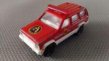 Voiture Miniature Majorette « Jeep Cherokee Complet N°224 »  1/60 Très Bon Etat.