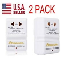 2pack 110V ~ 220V Step-Up & Down Voltage Converter 70W Transformer Travel NEW US