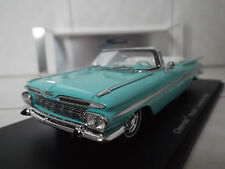 1:43 Spark Chevrolet Impala Convertible 1959 Blue NEW
