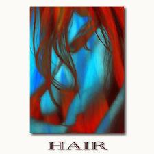 ☆HAIR☆ Leinwandbilder Akt Frau nackt lange Haare erotisch moderne Bilder kaufen