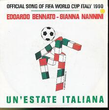GIANNA NANNINI 45 TOURS GERMANY FOOTBALL WORLD CUP