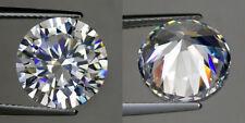 0.25 cts Round (4 mm) Russian Simulated Lab Diamond 6AAAAAA Hearts & Arrows K23