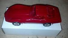 1979 Red Chevrolet Corvette Plastic Dealership Model New Old Stock