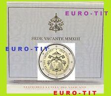 2 €   VATICAN    COMMEMORATIVE      SEDE    VACANTE    /    2013     disponible